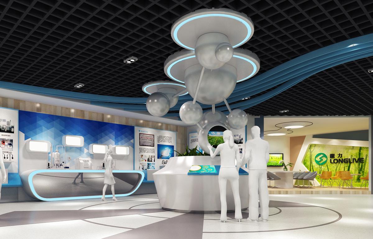 龙力企业展厅