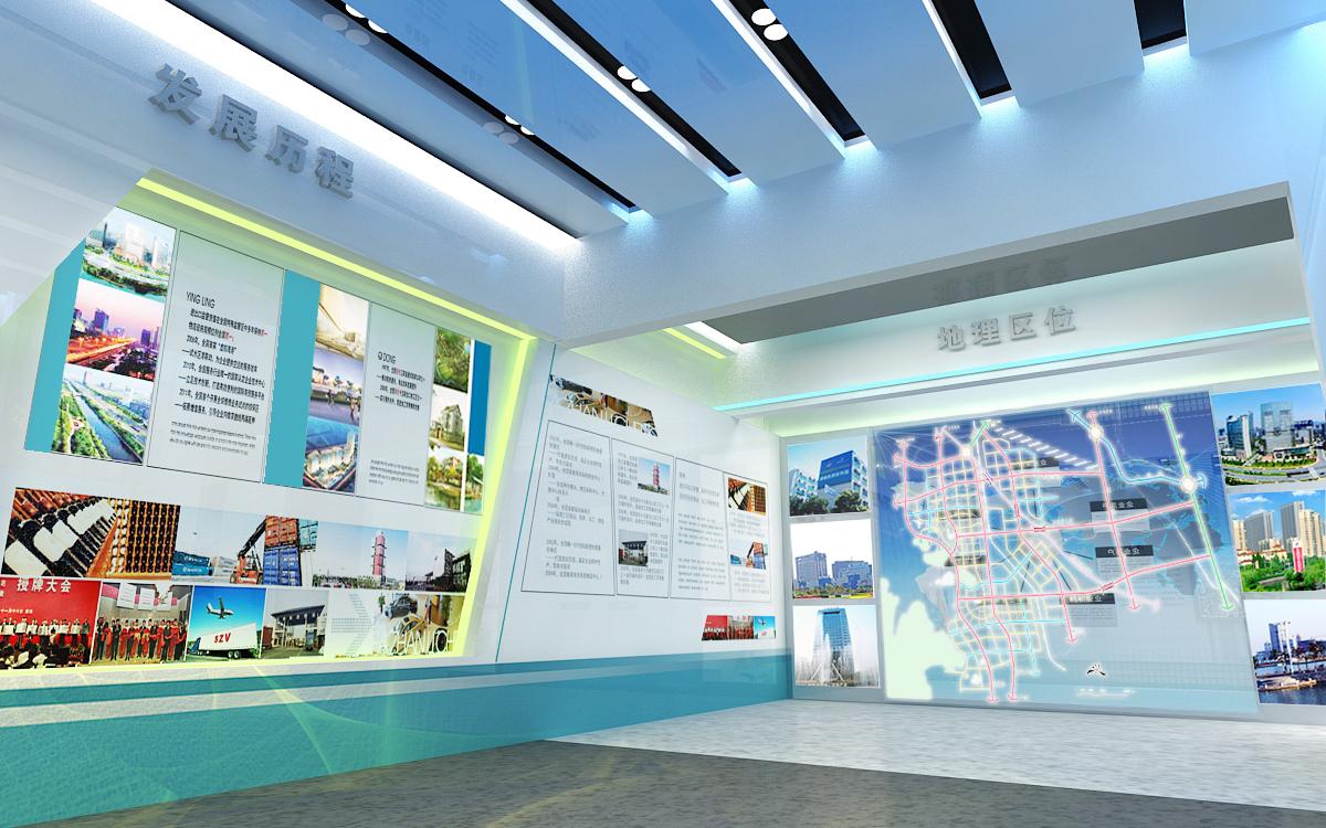 智慧通州科技展馆设计施工